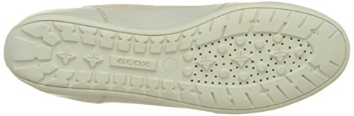 Geox D New Moena D, Zapatillas para Mujer Beige (SKIN/OFF WHITEC8116)