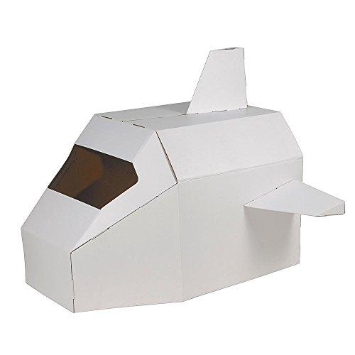 HAB & GUT (CT001) Astronave de cartón SPEED SHUTTLE, nave espacial ...