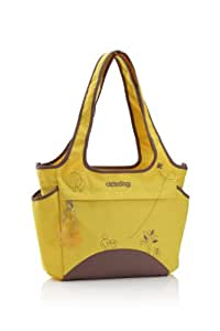 okiedog Saha Tote Diaper Bag Yellow