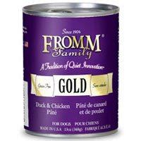 Fromm Gold Dog Food Canned Chicken Duck Pate (12x13 oz)