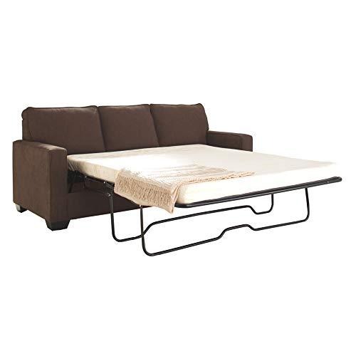 Ashley Furniture Signature Design -Zeb Sleeper Sofa - Contemporary Style Couch - Queen Size - Espresso