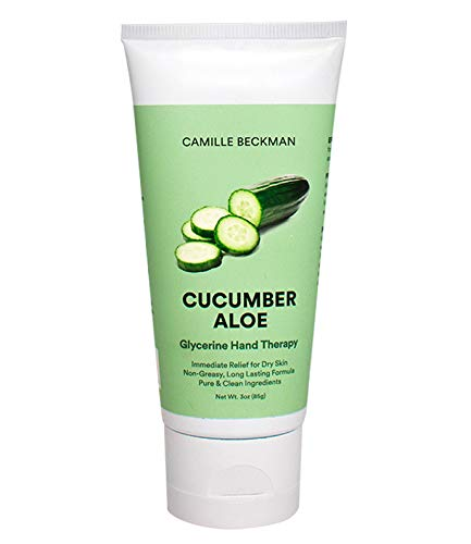 Camille Beckman Glycerine Hand Therapy Cream, Cucumber Aloe,