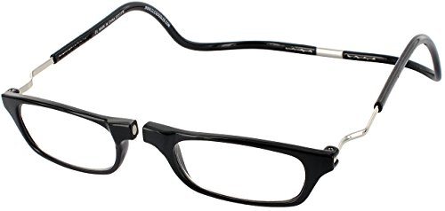 Clic Magnetic XXL Reading Glasses in black, +2.00