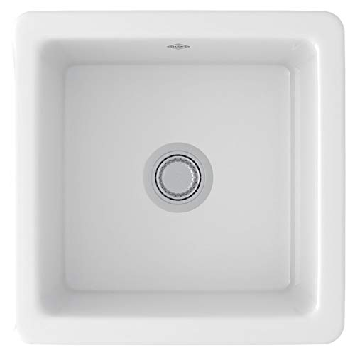 ROHL RC1818WH FIRECLAY KITCHEN SINKS, White
