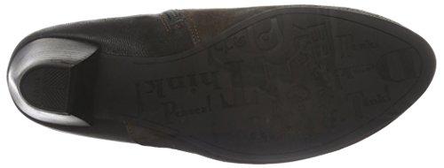 Think Fania, Zapatillas de Estar por Casa para Mujer Marrone (Braun (ESPRESSO/KOMBI 42))