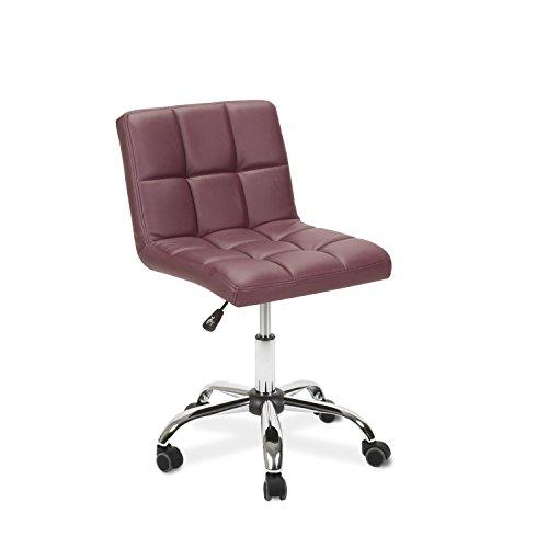 Esthetician Technician Stool TOTO BURGUNDY Chair for Spa Salon Office
