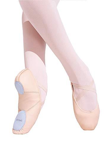 Capezio Girls' Juliet Ballet Shoe, Light Pink, 2 M US Little Kid (Toddler Ballet Slippers Capezio)