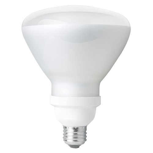 TCP CFL Covered R40 120W Equivalent, Soft White (2700K) Flood Light Bulb - Wet Location Rated ()