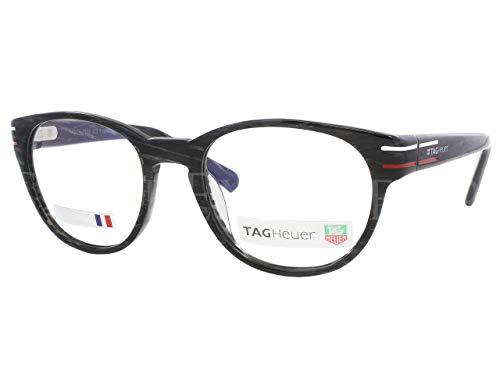 Tag Heuer Phantomatik TH0532 Eyeglasses 51-21-140 Black Carbon Effect w/Demo Clear Lens 003 TH 0532