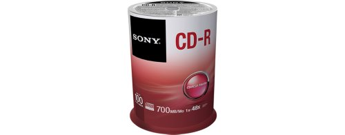 Review Sony 100CDQ80SP CD-R Data