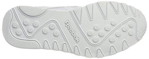 Reebok Classic Nylon Arch, Zapatillas para Hombre, Negro Blanco (White/ Black)