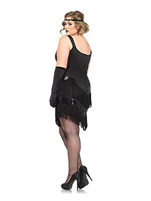 Leg Avenue Women's Plus-Size Glamour Flapper with Headband