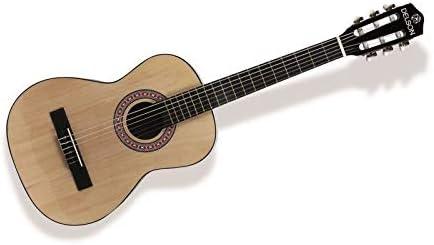 Delson Sevilla - Guitarra clásica (1/2), color madera natural ...