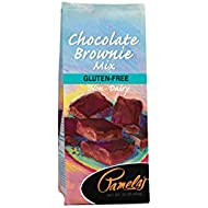 Pamela's Products Gluten Free Chocolate Brownie Mix, 16 Ounce