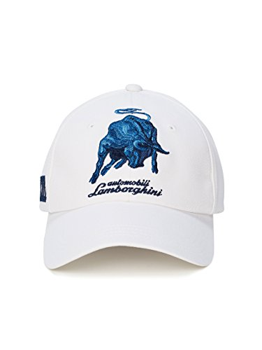 Lamborghini Bull LXIII Cap Optic - White Collection Ferrari