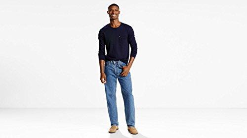 Levi's Men's Big and Tall 550 Relaxed Fit Jean, Medium Stonewash, 36W x 36L (550 Jeans Tall)