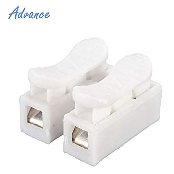 Buy Buyme 10pcs Connector Blocks Home Improvement Electrical Equipment Supplies Transmission Par Terminals Wiring Accessories Cable Glands 3 Pin Large 10pcs Online At Low Prices In India Amazon In