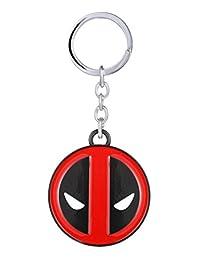 Marvel Comics Deadpool Logo Metal Keychain