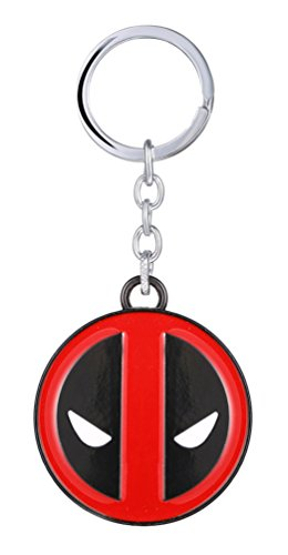 Marvel Comics Deadpool Logo Metal Keychain