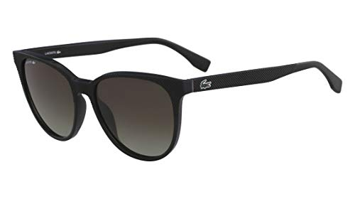 Óculos Lacoste L859S 001 Preto Lente Marrom Flash Degradê Tam 56