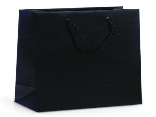 BLACK MATTE Gift Bags MEDIUMMINI-PK 13x5x10'' 3 unit, 10 pack per unit.