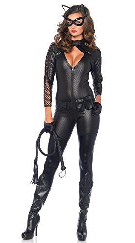 Women's Babydoll Sexy Patent Leather Large Size Corset Fancy Dress Costume Catwoman Costume Party Cosplay Deep V-Neck Teddy Nightdress With Belt And -
