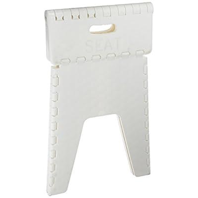 B&R Plastics 152-6WH Folding Neat Seat - 15