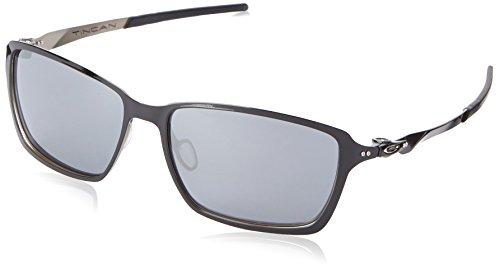 Oakley Men's Tincan Square Eyeglasses,Polished Black,58 - Oakley Case Hard Amazon