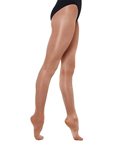 Silky Childrens Girls Stirrup Foot Shimmer Dance Ballet Tights