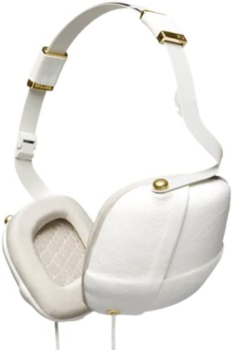 Molami Pleat 04090819 Over-Ear Headphone White Gold OPEN BOX