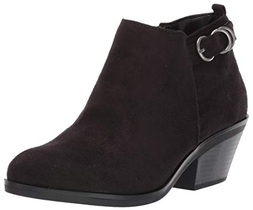 LifeStride Women's KAM Ankle Boot, Black, 8 M US (Womens Ankle Dress Boots)