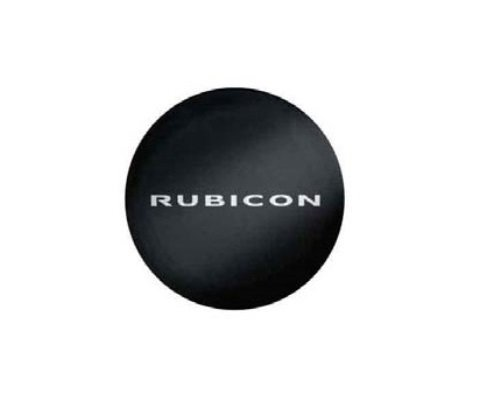 Genuine Jeep Accessories 82212429 Cloth Spare Tire Cover with Rubicon Logo