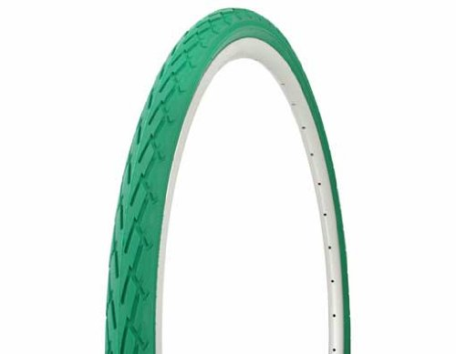Tire Duro 700 x 38c Green/Green Side Wall DB-7044. Bicycle tire, bike tire, track bike tire, fixie bike tire, fixed gear tire