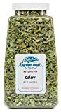 Harmony House Foods, Dried Celery, Crosscut, 8 Ounce Quart Size Jar