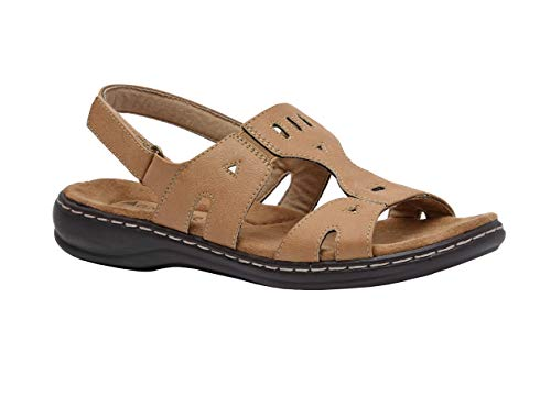 acc93b826843 Cushionaire Women s Bowie Comfort Footbed Sandal with +Comfort