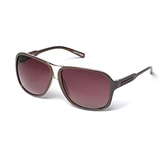 7a79c83f46b8 MUK Men's Daytona Sunglasses Brown Frame with Brown Lens MUK107744 One  Size: Amazon.co.uk: Clothing