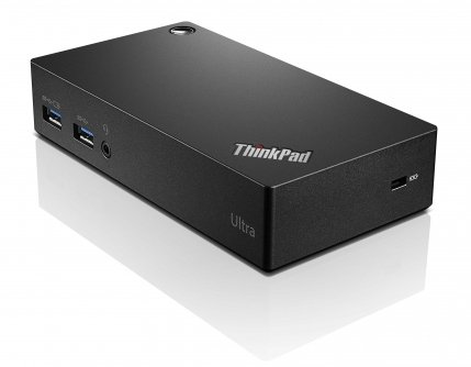 Lenovo USA Thinkpad USB 3.0 Ultra Dock-US 40A80045US (Super Speed USB 3.0, USB 2.0, HDMI, Display Port)