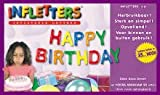 "Infletters Inflatable Letters Boxed Set ""HAPPY BIRTHDAY"""