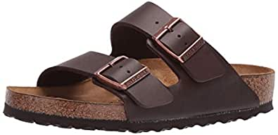Birkenstock Unisex Adults' Arizona Sandals, Grey, 45 EU