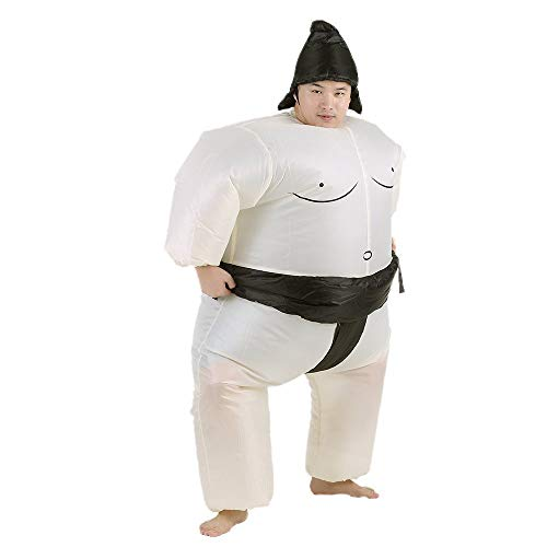 Anself Funny Sumo Inflatable Costume Halloween Party Cosplay