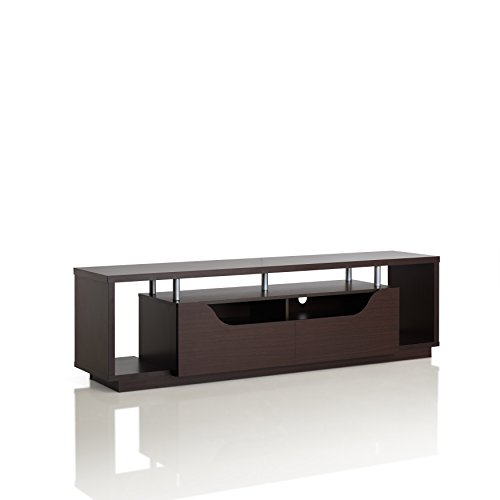 ioHOMES Hausen Modern TV Stand, Espresso by HOMES: Inside + Out