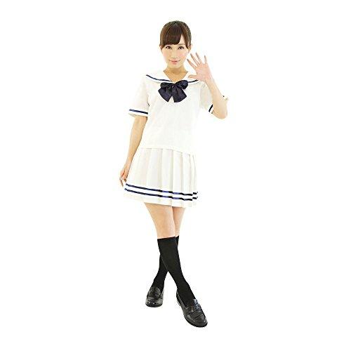 Delle Donne Crema Bianco Uniforme Scuola Color Essere Con wq6x4ZCRRY