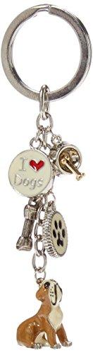 LittleGifts Bulldog Enamel Keychain (Bulldogs Enamel)