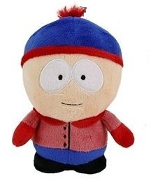 "SOUTH PARK - Peluche ""Stan Marsh"" (5""/14cm) de"