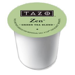 Tazo Zen Green Tea Keurig K-Cups, 48 Count (Tazo Zen Full Leaf Tea compare prices)