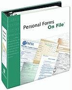 Personal Forms On File, 2008 Edition