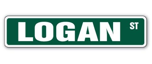LOGAN Street Sign child bedroom product image