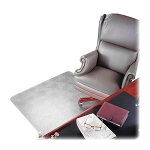 Deflect-O Corporation Chair Mat, Rectangular, Beveled Edge, 60''X60'', Clear