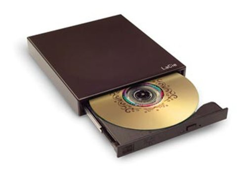 LaCie USB 2.0 Portable 8x DVD RW Drive with Lightscribe 301485 by LaCie