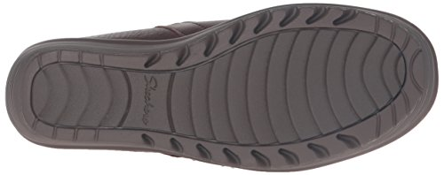 Skechers Womens Parallel Infrastructure Wedge Sandal Chocolate